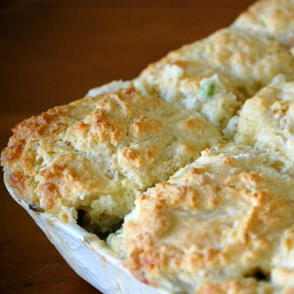 Turkey Pot Pie with Biscuit Topping | 20 Classic Family Meals | Food ...