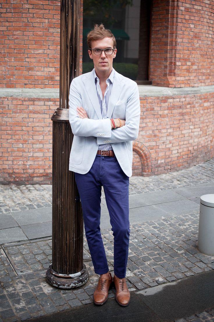 17 Best ideas about Blue Blazer Men on Pinterest | Mens suits ...