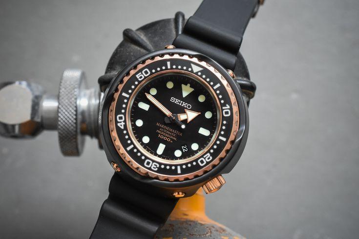 Seiko Prospex Marinemaster 1000m Emperor Tuna Rose Gold SBDX014
