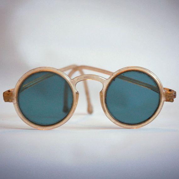 vintage 1930's sunglasses.
