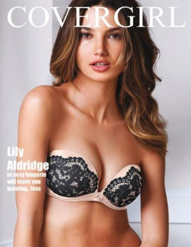 Lily Aldridge - Covergirl Magazine July 2016