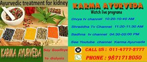#KidneyTreatment in #India - Delhi - free classified ads Karma Ayurveda also provides one of best Kidney Failure Treatment through Ayurvedic Medicine, under the supervision of Dr. Puneet Dhawan.