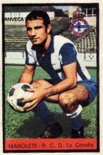 MANOLETE (R.C.D. La Coruña - 1972-73)