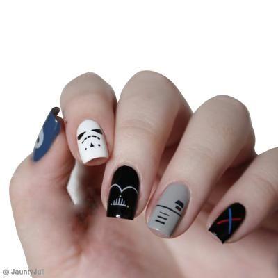#NailArt Star Wars - #vernis - #manucure