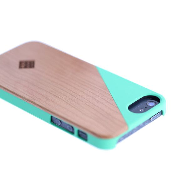 CLIC Wooden iPh 5/5S Case Jade
