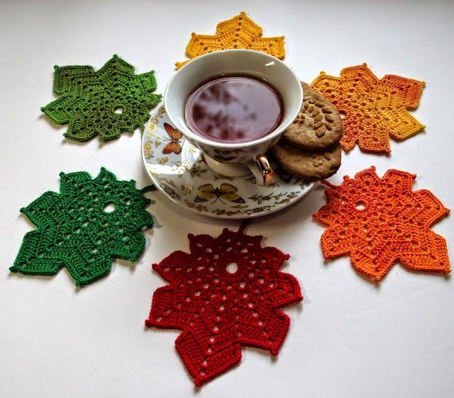 Crochet  desde El Tabo.: Posa Vasos ,Coaster Crochet,Ideas.
