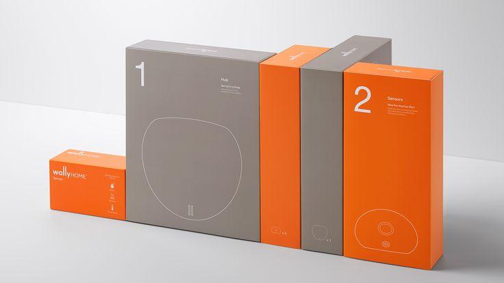 Wally - Home Sensor System — The Dieline - Branding & Packaging
