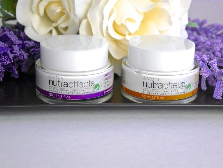 Avon NutraEffects Active Seed Complex Radiance and Anti-Aging Moisturizers