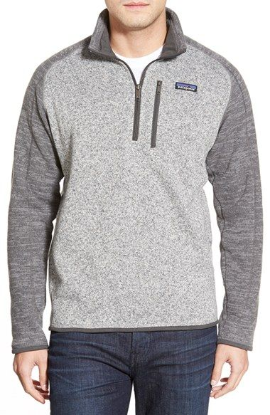 Yes, I know its a mens Pullover...but i like it. Small - Patagonia 'Better Sweater' Quarter Zip Pullover available at #Nordstrom