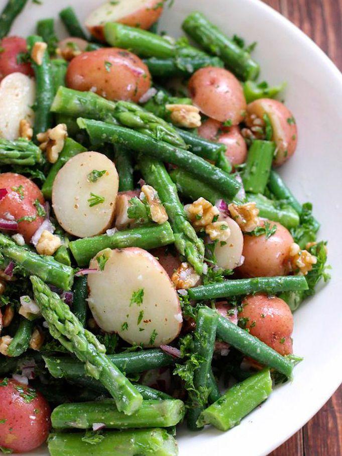 Salade pommes de terre / asperges