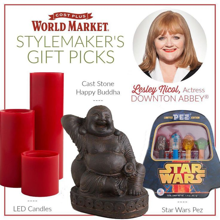 Downton Abbey's Lesley Nicol shares her Top Gift Picks this holiday season from World Market. (link in profile to #shop) #JoytotheWorldMarket