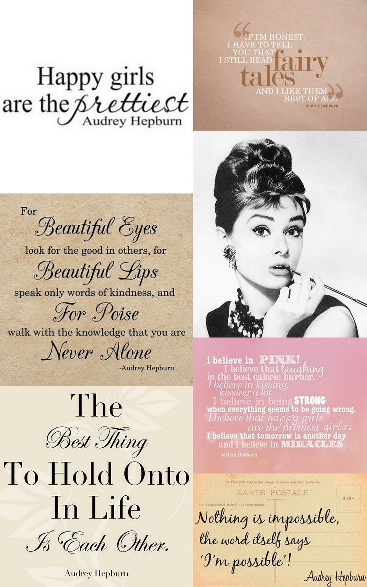 audrey hepburn quotes | Tumblr