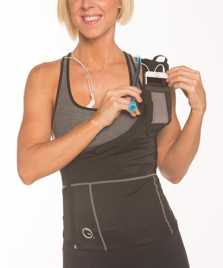 Look at this SHOLDIT Black Hydrosport™ Convertible Sports Vest on #zulily today!