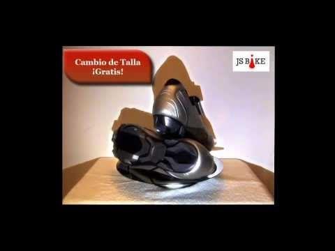 Estupendas zapatillas shimano XC30 de color plata, búscalas en JSBike