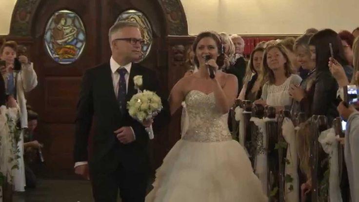"Wedding Songs Walk Down Aisle Church: Maria & Ronny Got Married, ""the Surprise"""