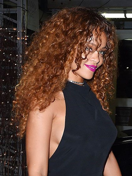Best 2015 Celebrity Hair Moment - Rihanna's curly hair at the RiRi by Rihanna fragrance launch in New York City | allure.com