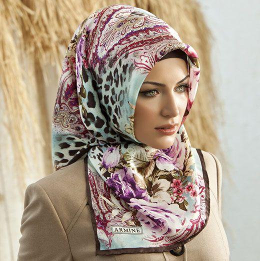 lastest Turkish hijabs