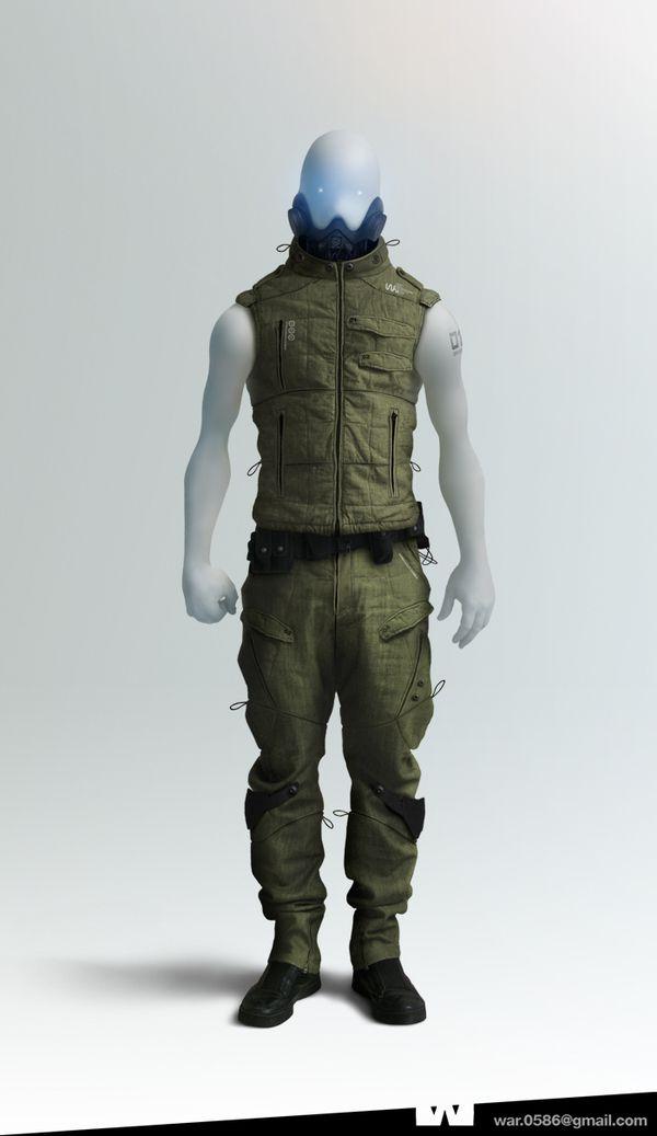 WAR : Character Design by olivier masson, via Behance