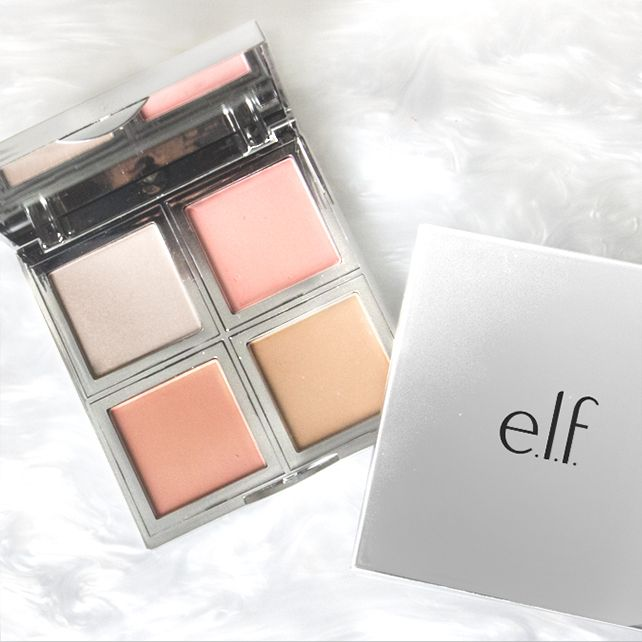 Our NEW Beautifully Bare Total Face Palette highlights, bronzes, and also comes with two blushes! Exclusively avail at elfcosmetics.com!! #playbeautifully