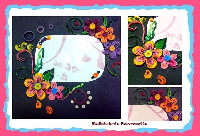 Quilling - Frame | My Quilling Crafts | Pinterest