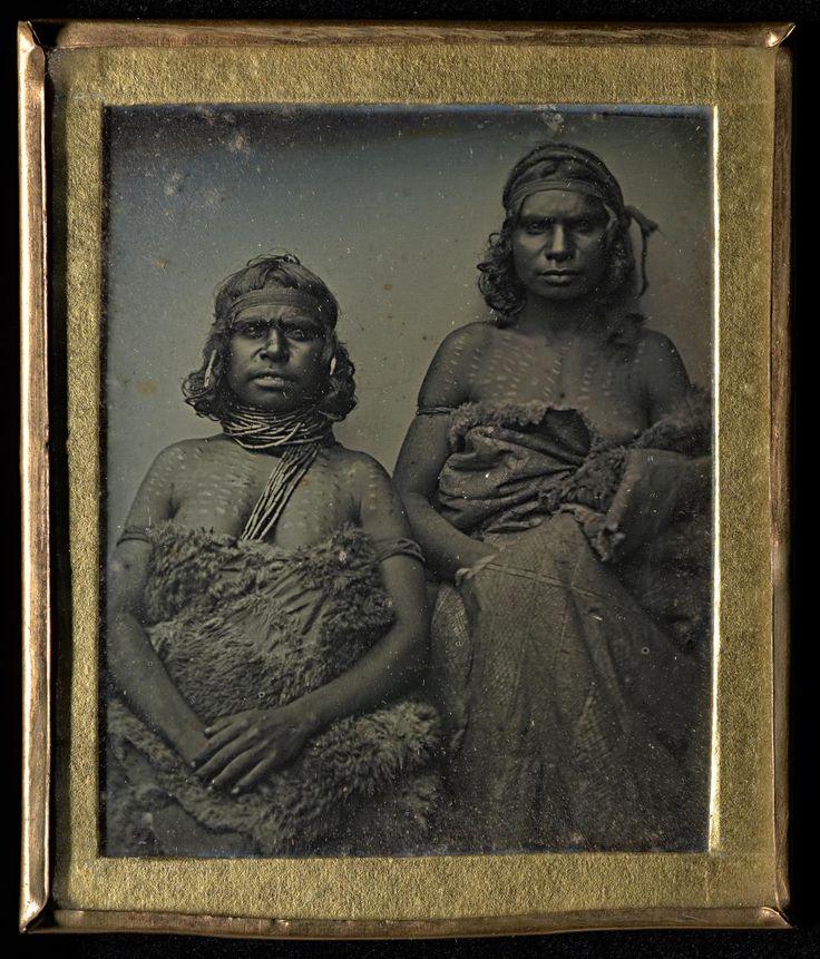 No title (Two Koori women)   Douglas T. KILBURN   NGV