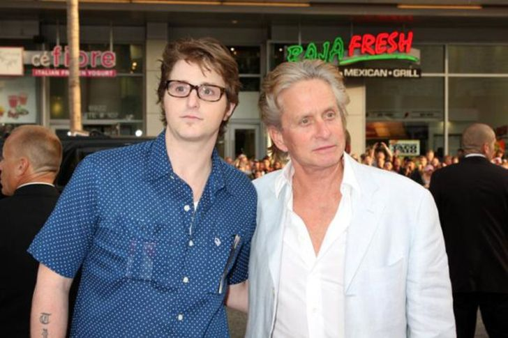 6. Cameron Douglas ( Son of Michael Douglas) Cameron had been sent behind the bars for five years for using methamphetamine. It was in 2011 when he was arrested with the banned substance again, and sentenced to imprisonment for an additional four years. He got released from prison this year in August.