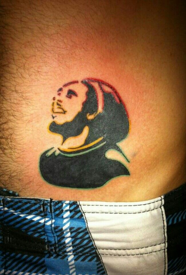 My Bob Marley tattoo