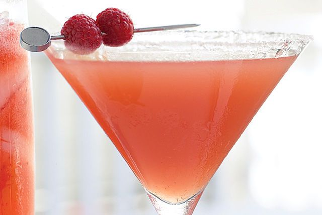Your guests will love toasting to this fabulous alcohol-free cocktail this summer.  When served in martini glasses, it could pass for the classic Cosmopolitan.  And, it takes just minutes to mix. What fun!
