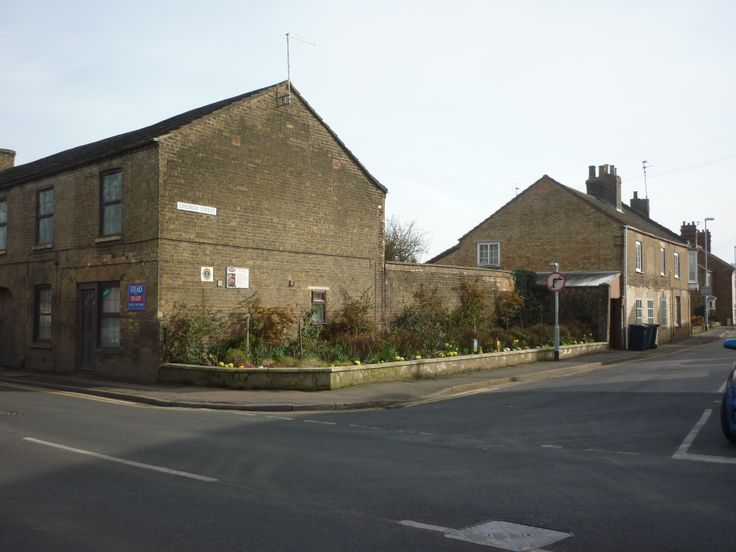 Church Street Corner Rose Garden, Whittlesey, March 2014