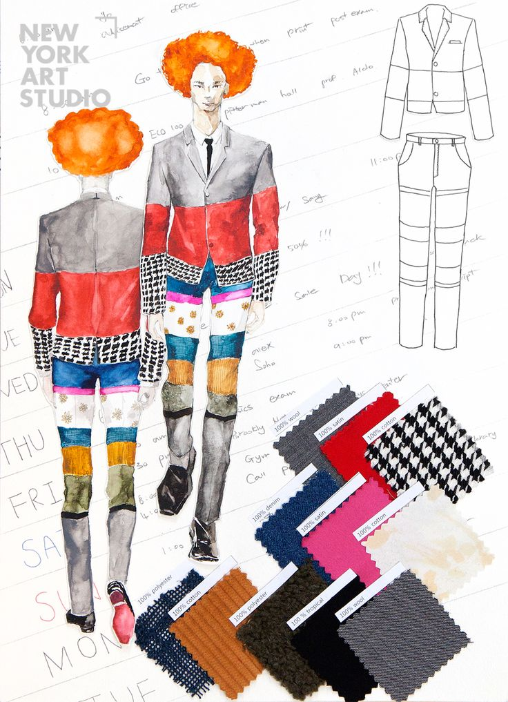 36 Best Images About Fashion Design Portfolio On Pinterest