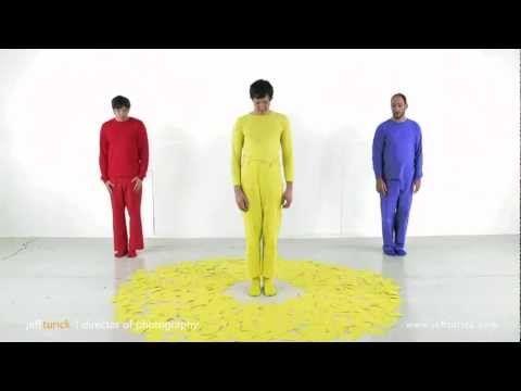 Pää- ja välivärit - musavideo (1:35 taustaa).