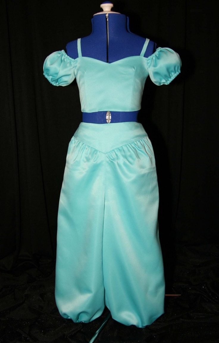 Satin Jasmine Costume Custom Size. $189.99, via Etsy. So pretty
