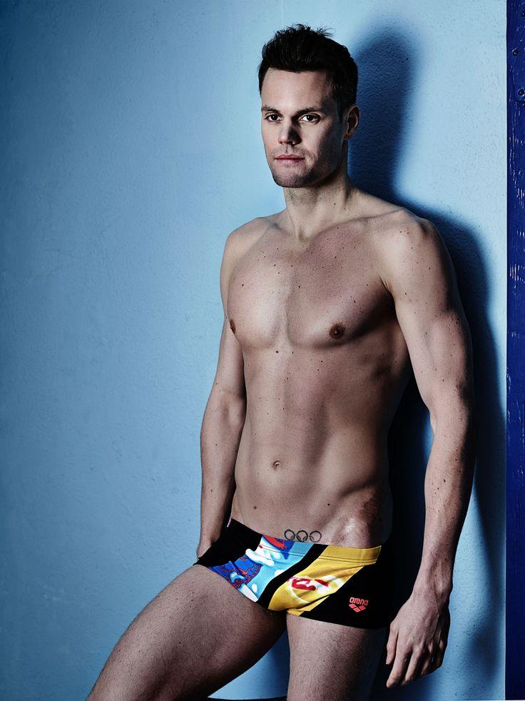 Swimmer low waist short #natation #homme #waternity