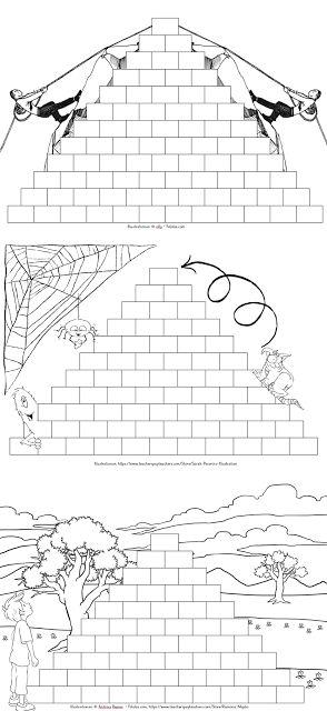 Blankorechenmauern für die Freiarbeit