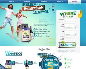 El alivio de las hemorroides Venapro homeopáticos fórmula de deshacerse de la miseria rápido de hemorroides. Ponemos nuestra Twin Pack totalmente natural juntos para darle el máximo alivio en todos los niveles.