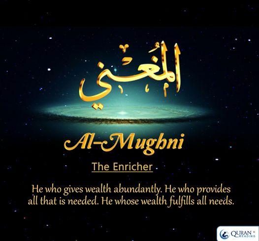 Al-Mughni The Enricher