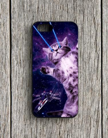 Laser Kitty Space iPhone 5 | 5S Case