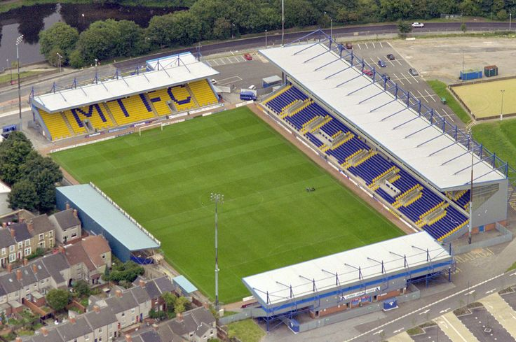 Field Mill - Aerial - Mansfield Town FC
