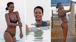 Rihanna Hits The Beach ... AGAIN!