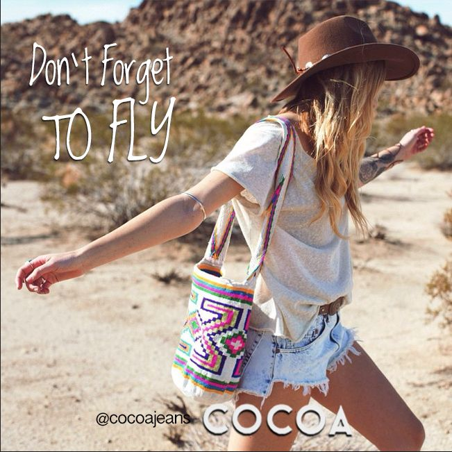 Don't forget to fly #lifestyle #behappy #fun #love #enjoy #trendy #fashion #cocoa