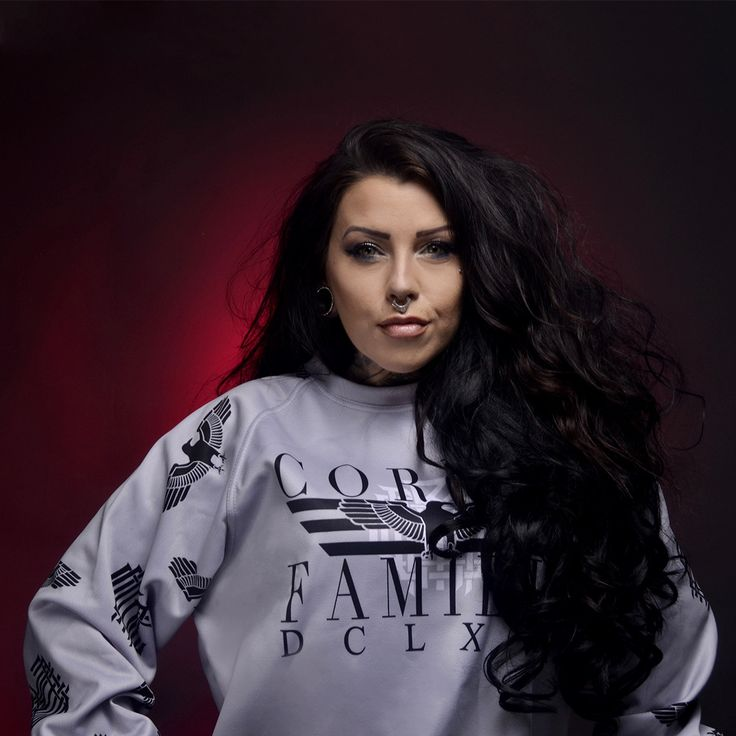 """Corvid Fam"" Raglan Sweatshirt Available at www.crmcclothing.co 