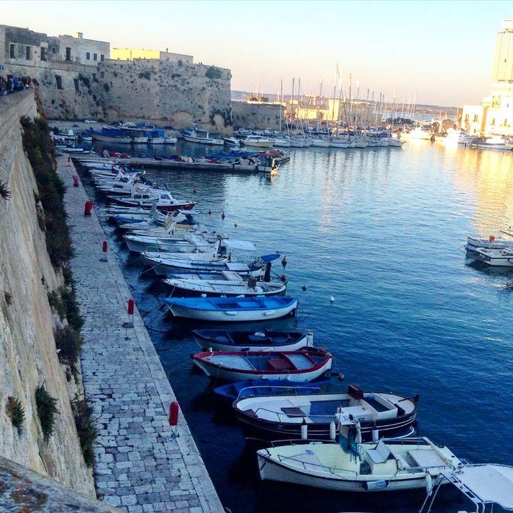 Porto di Gallipoli- castello