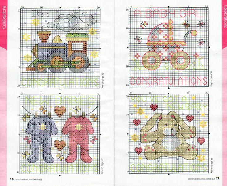 Gallery.ru / Фото #62 - The world of cross stitching 153 + приложение 120 Charts - tymannost