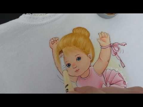Como pintar cabelinho louro ou loiro - YouTube