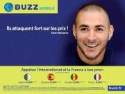 Karim Benzema ambassadeur de BUZZmobile