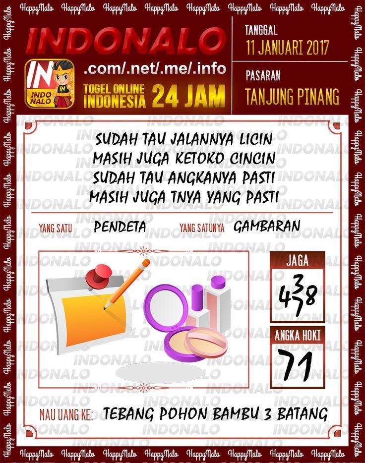 Kode Kumat 3D Togel Wap Online Live Draw 4D Indonalo Tanjung Pinang 11 Januari 2017