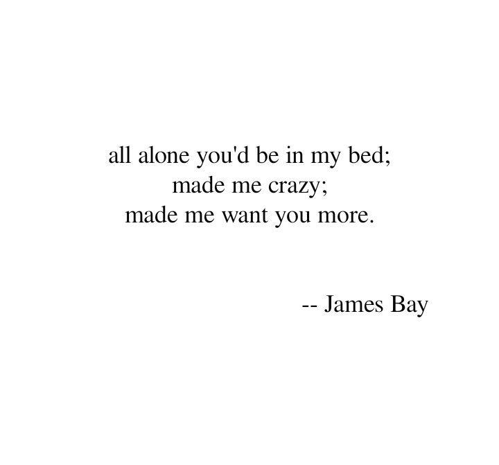 Lyric brazil song lyrics : 22 best James Bay images on Pinterest | James bay lyrics, Music ...