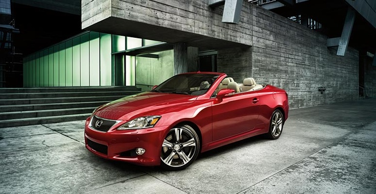 Lexus IS C - 350 Red
