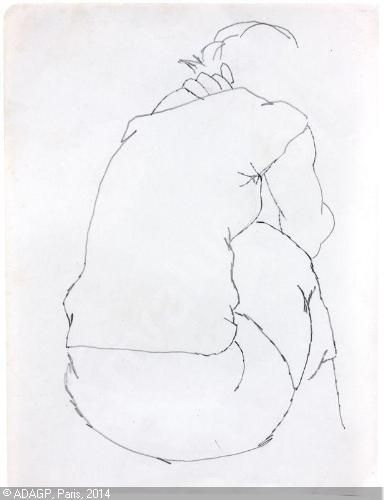 CHILLIDA Eduardo, 1924-2002 (Spain). Drawings