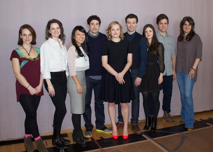 Meet the Cast and Director of 'The Heidi Chronicles' (From left to right: Tracee Chimo, Leighton Bryan, Ali Ahn, Jason Biggs, Elisabeth Moss, Bryce Pinkham, Elise Kibler, Andy Truchinski and director Pam MacKinnon)